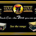 Black Cat Fireworks - Gold Collection